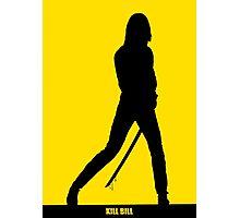 KILL BILL - Minimal Silhouette Poster Photographic Print