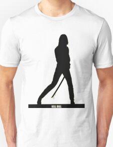 KILL BILL - Minimal Silhouette Poster Unisex T-Shirt