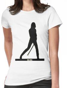 KILL BILL - Minimal Silhouette Poster Womens Fitted T-Shirt