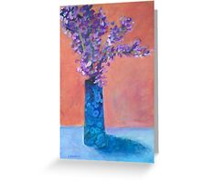 Cove Blossoms Greeting Card
