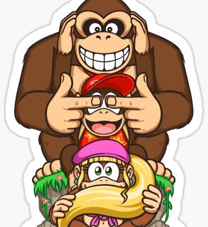 Sanzaru Kong Sticker