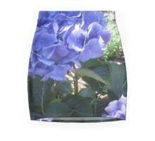 Violet Plume Mini Skirt