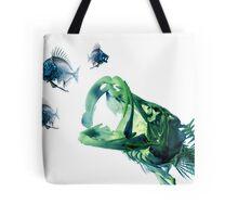 Snook Chasing Pinfish Tote Bag