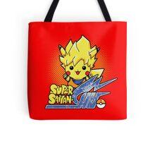 Super Saiyan-Chu Pikachu Tote Bag
