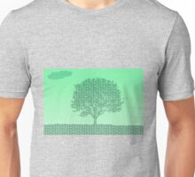 Spring Tree Text Unisex T-Shirt