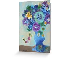 Found Flowers Greeting Card