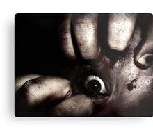 Creepy Eye Metal Print