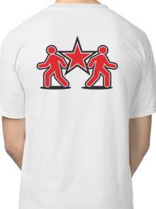 Dancing shuffle man RED STAR Classic T-Shirt