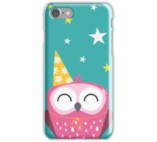 Party Owl iPhone Case/Skin