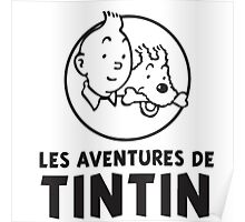 the adventure of tintin Poster