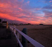 Dawn over Nobby's Beach by Paul Lamble