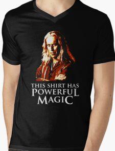 Powerful Magic Mens V-Neck T-Shirt