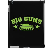 BIG GUNS with military tank weapon iPad Case/Skin