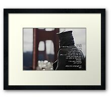 the Watcher (all countries) Framed Print