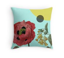Sci-Fi Nature Throw Pillow