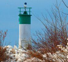 November lighthouse Sticker