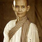 Lady at Angkor Wat by EveW