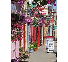Miltown Malbay in Bloom Photographic Print