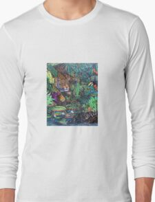 Lurking In The Jungle Long Sleeve T-Shirt
