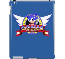 SONIC TITLE SCREEN iPad Case/Skin
