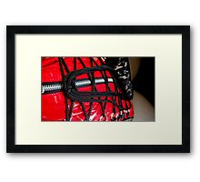 Laced Framed Print