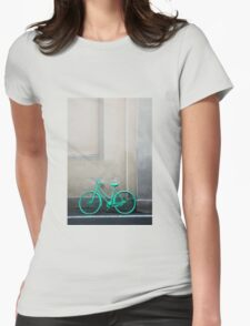Green Cycle Womens Fitted T-Shirt