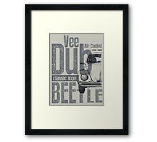 V-Dub Classic T-shirt Framed Print