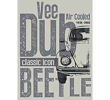 V-Dub Classic T-shirt Photographic Print