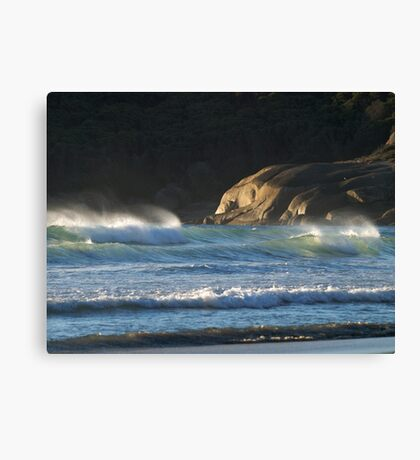Seascape at Squeaky Beach, Wilsons Promontory Canvas Print