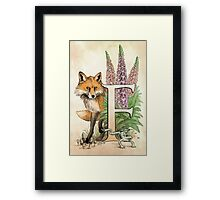 F is for...  Framed Print