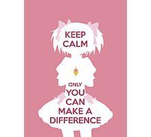 Keep Calm - Madoka Edition Photographic Print