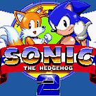 SONIC 2 TITLE SCREEN by PIXLTEES