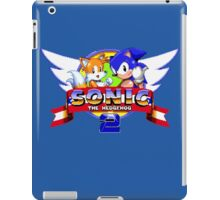 SONIC 2 TITLE SCREEN iPad Case/Skin