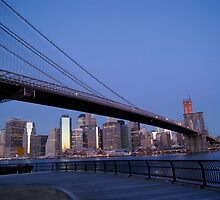Brooklyn Bridge by abq26