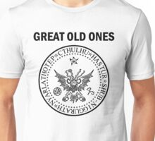 Seal of the Great Old Ones - Black Unisex T-Shirt