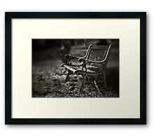 I am waiting, forever young Framed Print