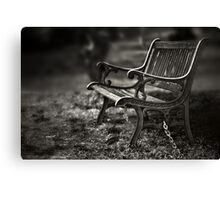 I am waiting, forever young Canvas Print