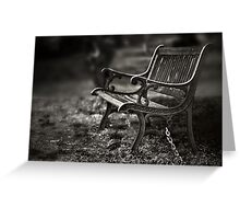 I am waiting, forever young Greeting Card