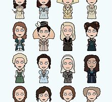 Ladies of The Musketeers (print/card) by redscharlach