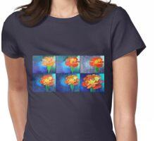 Evolution of a  painted Tagete Womens Fitted T-Shirt