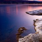 Frosty morning at Lake Otamangakau 2 by Paul Mercer