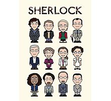 Sherlock and Friends (poster/card/notebook) Photographic Print