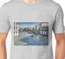 North from the Rialto Bridge Unisex T-Shirt
