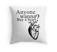Buy a Heart  Throw Pillow