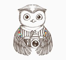 Drawing owl with camera T-Shirt