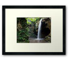Tonti Canyon Framed Print