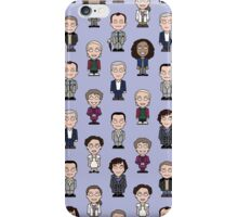 Repeating Sherlock and Friends iPhone Case/Skin