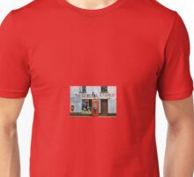 Old Stores and Red Telephone Box Unisex T-Shirt