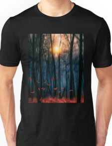 Red feather dance Unisex T-Shirt