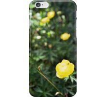 Wild peonies iPhone Case/Skin
